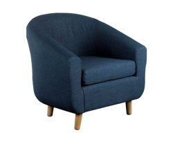 Rita Fabric Tub Chair