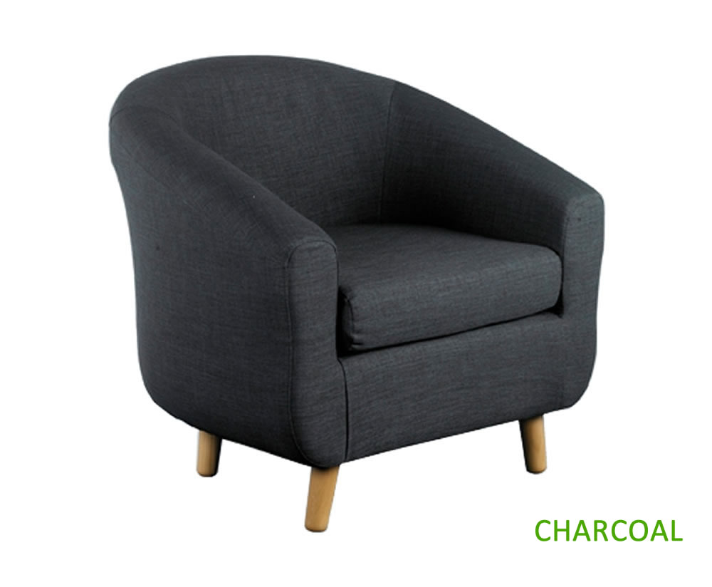 Rita Fabric Tub Chair - Just Armchairs