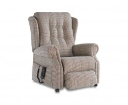 Donna Luxury Dual Motor Upholstered Rise and Recline Chair