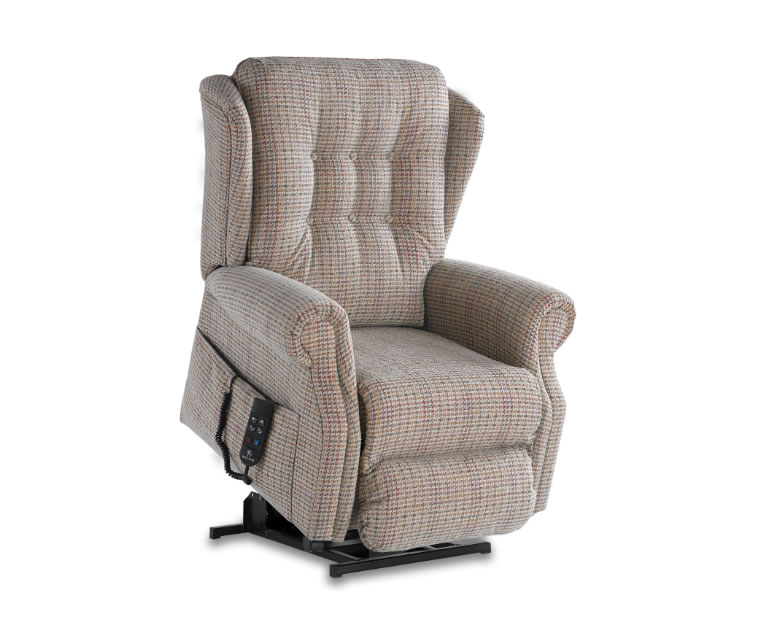 Donna Luxury Upholstered Rise and Recline Chair - Just ...