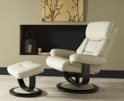 Jordan Taupe Bonded Leather Recliner Chair