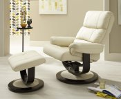 Strand Faux Leather Recliner Chair