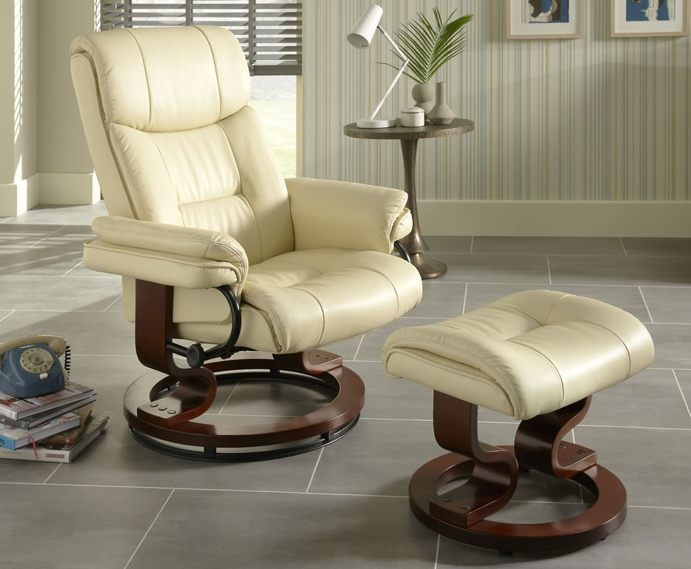 cream leather armchair spencer faux leather recliner chair just armchairs 13598 | 1417 1
