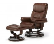 Spencer Faux Leather Recliner Chair