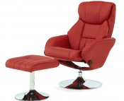 Farris Faux Leather Recliner Chair