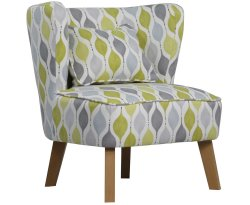Picardi Fabric Occasional Accent Chair