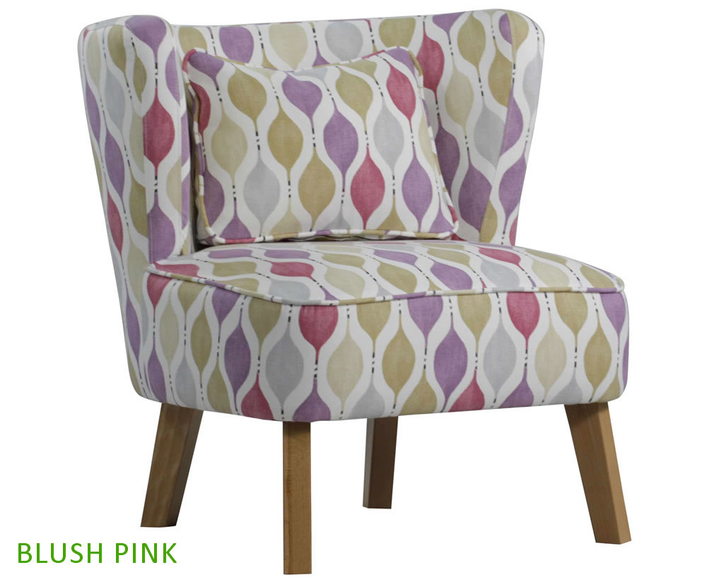 picardi fabric occasional accent chair just armchairs. Black Bedroom Furniture Sets. Home Design Ideas