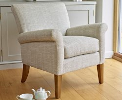 Warrenpoint Natural Upholstered Armchair