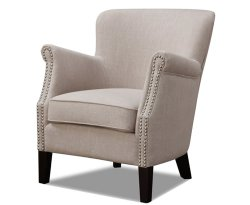 Stortford Beige Fabric Armchair