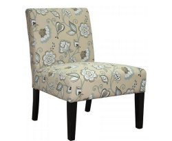 Drew Duck Egg Blue Fabric Bedroom Chair