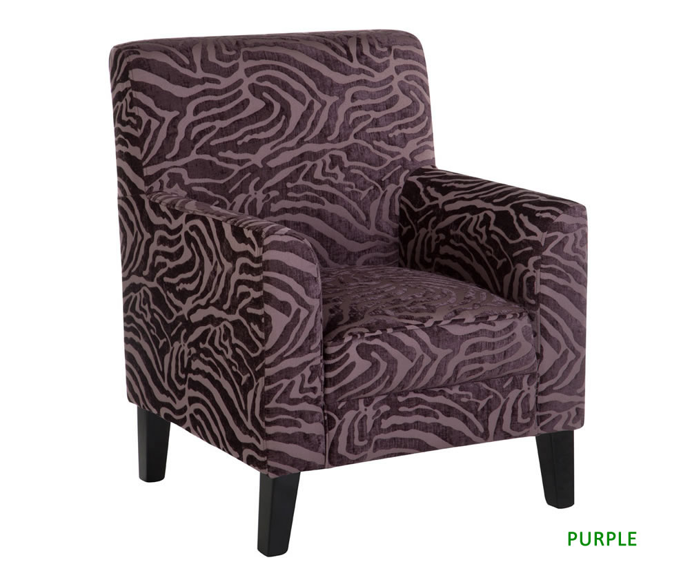 Monika Animal Print Occasional Accent Chair Just Armchairs