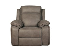 Moffat Grey Fabric Recliner Chair
