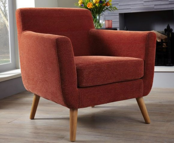 Roxy Fabric Accent Chair Just Armchairs