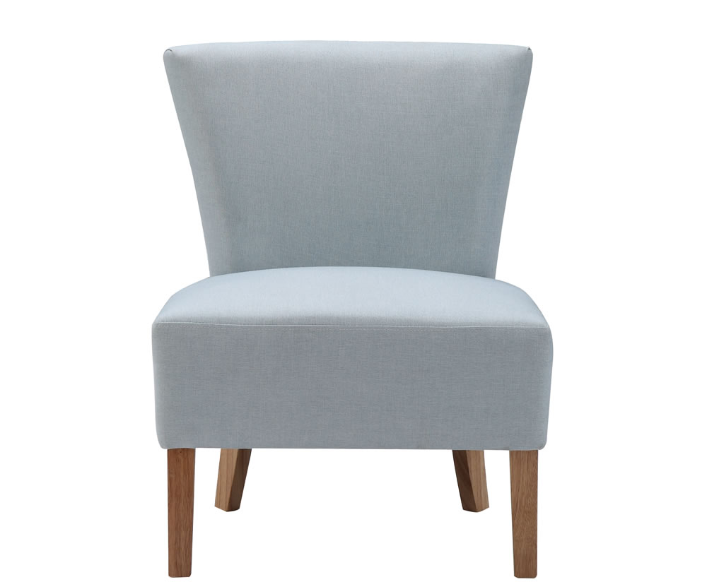 Information; Delivery U0026 Assembly. Crawley Duck Egg Blue Linen Fabric  Bedroom Chair