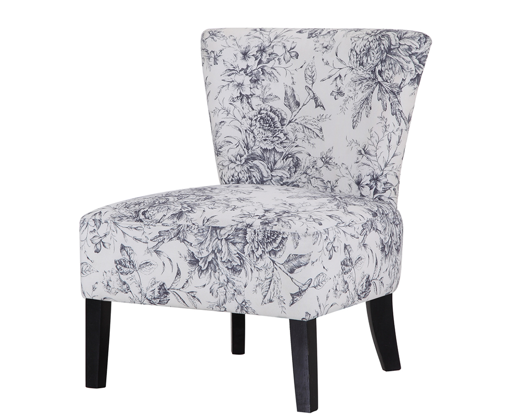 Chairs Crawley Floral Fabric Bedroom Chair