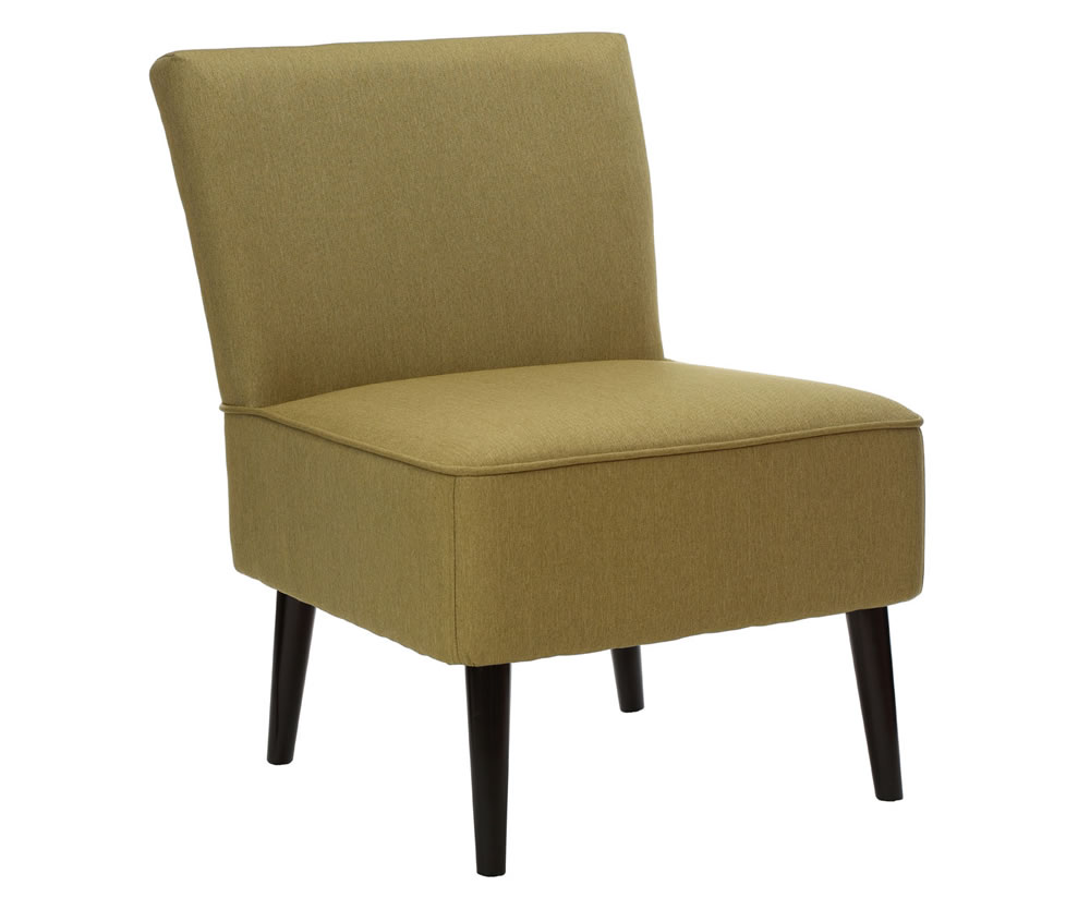 justarmchairs.co.uk Lanzo Green Linen Bedroom Chairs