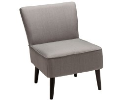Lanzo Linen Bedroom Chair - Set of 2