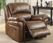 Weydon Leather Look Manual Recliner