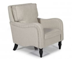 Tait Latte Upholstered Occasional Armchair