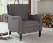 Tait Grey Upholstered Occasional Armchair
