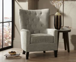 Bayswater Mink Upholstered Fireside Chair