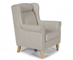 Wilson Latte Upholstered Fireside Chair