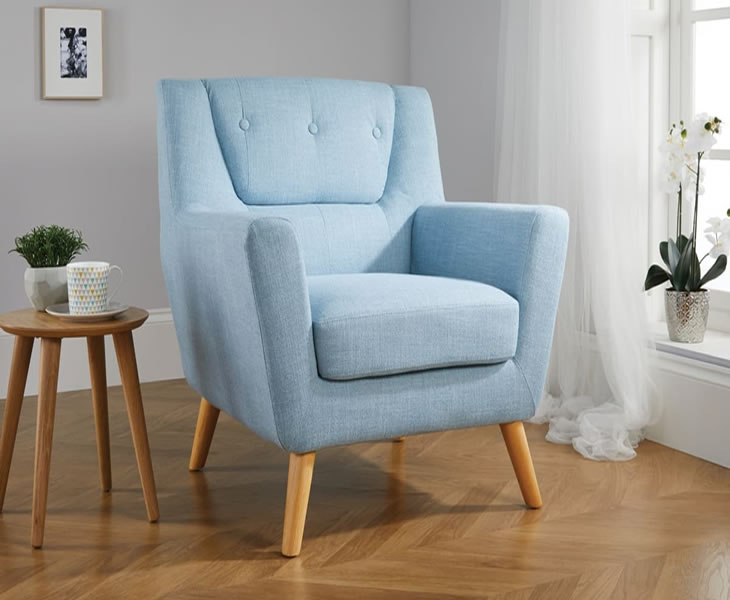 information delivery u0026 assembly mitcham duck egg blue occasional chair