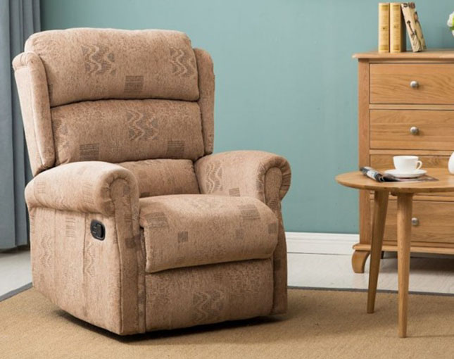 justarmchairs.co.uk Yonkers Wheat Recliner Chair