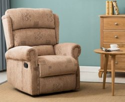 Yonkers Wheat Recliner Chair