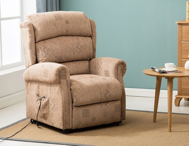 Armchairs Yonkers Wheat Rise and Recline Chair