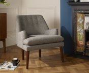Wallace Fabric Occasional Armchair