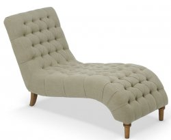 Inverness Mink Fabric Chaise Longue