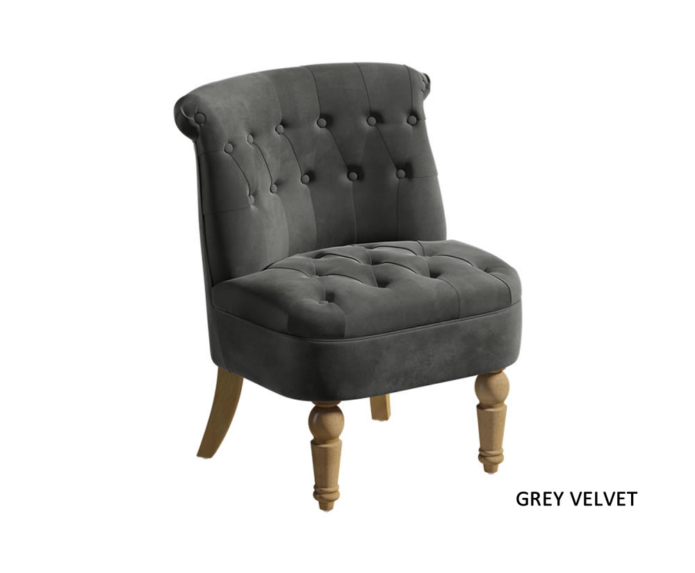 Georgia Upholstered Bedroom Chair Just Armchairs