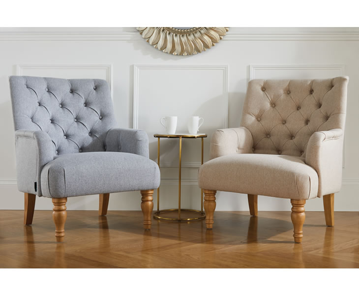 Padstow Upholstered Occasional Arm, Upholstered Living Room Chairs With Arms