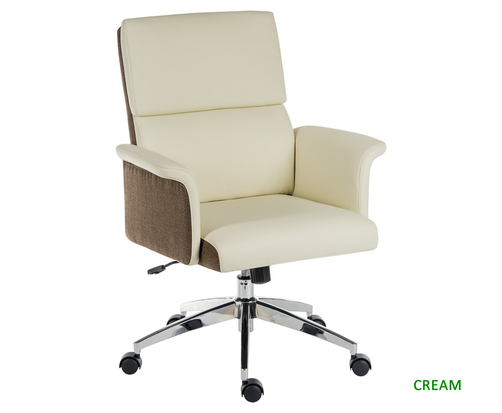 Luxury Low Back Faux Leather Office Chair Just Armchairs