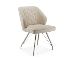 Elegance Linen Dining Chair