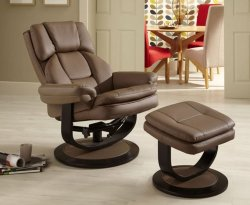 Finley Bonded Leather Recliner Chair