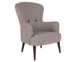 Oslo Wool Fabric Fireside Chair