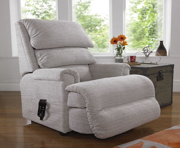 Armchairs Marion Waltz Chenille Fudge Upholstered Rise and Recline Chair *Special Offer*