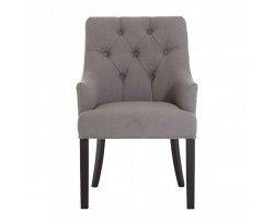 Formentera Upholstered Grey Dining Chair