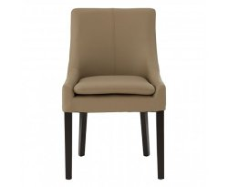 Freetown Taupe Faux Leather Dining Chair
