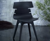 Jazz Black Dining Chair