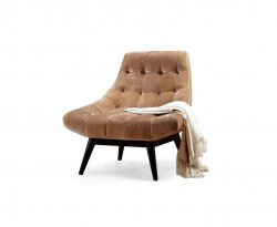 Karl Brown Accent Chair