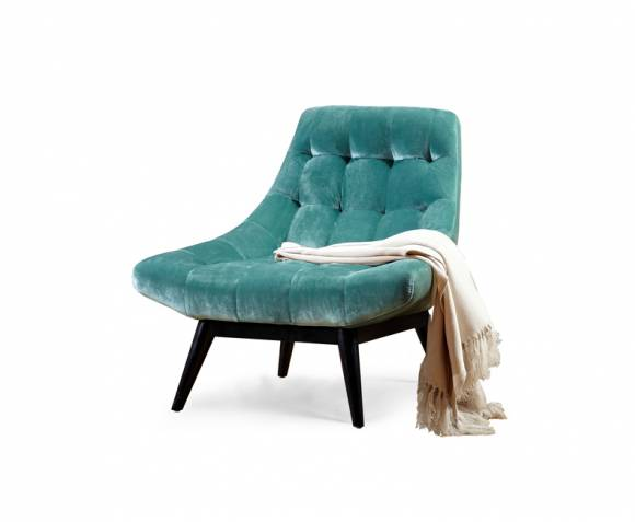 Karl Mint Green Accent Chair Just Armchairs