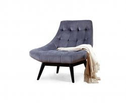 Karl Grey Accent Chair