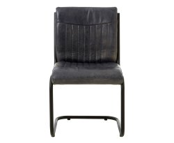 Tucay Blue Buffalo Leather Dining Chair
