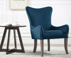 Ellie Midnight Blue Accent Chair