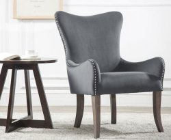 Ellie Grey Accent Chair