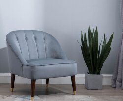 Forest Grey Accent Chair