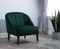 Forest Green Accent Chair
